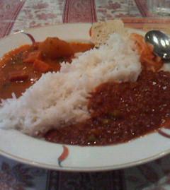 インド料理「ボンベイ・カフェ」(7月17日)